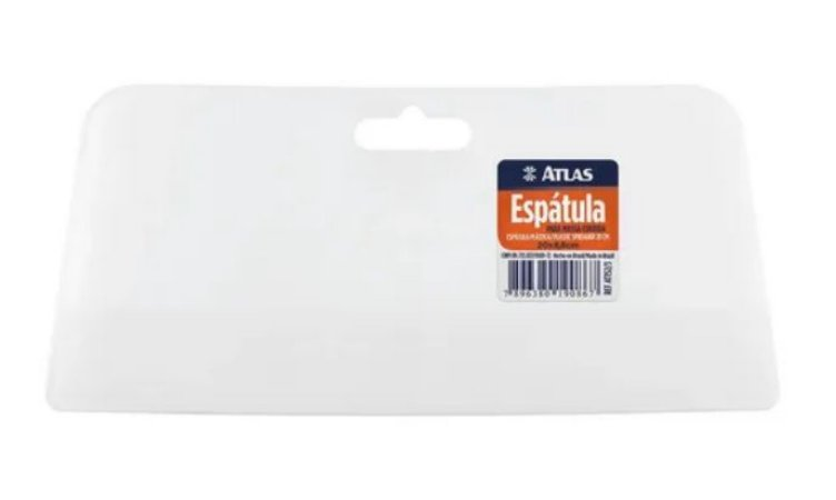 Espátula para Massa Corrida  20cm x 8,8cm Ref AT152/2 Atlas