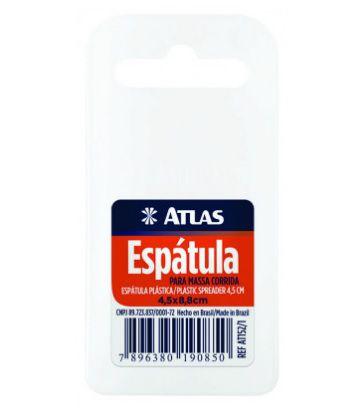 Espátula para Massa Corrida 4,5cm x 8,8cm Ref AT152/1 Atlas