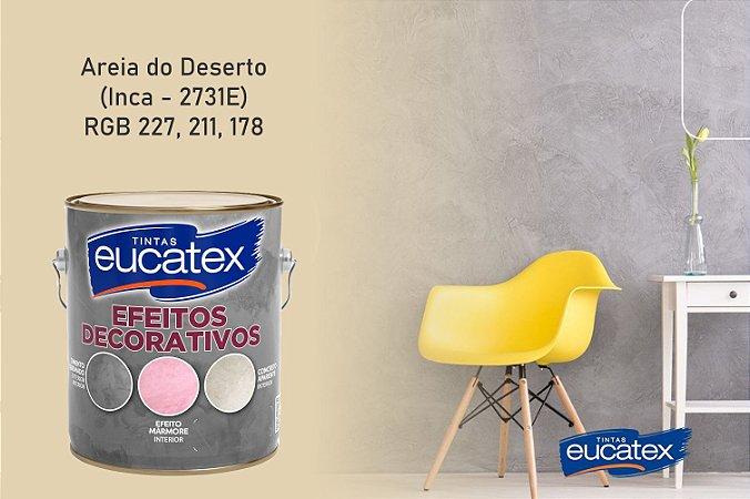Cimento Queimado Eucatex Galão 4,7Kg Efeito Decorativo Areia do Deserto