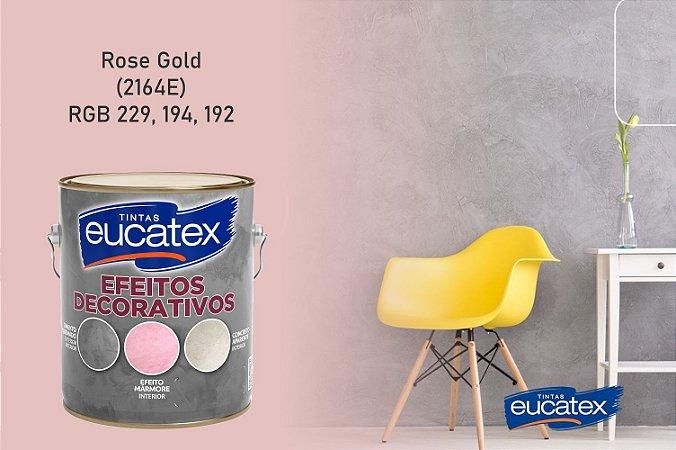 Cimento Queimado Eucatex Galão 4,7g Efeito Decorativo Rose Gold