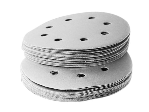 10 Disco Lixa Pluma 125mm 8 Furos Lixadeira Roto Orbital #60