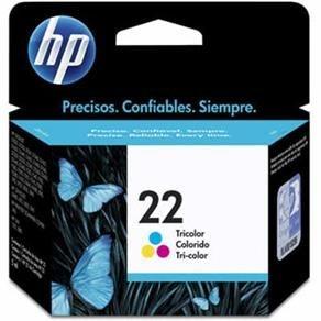 Cartucho Original HP 22 Colorido - C9352AB