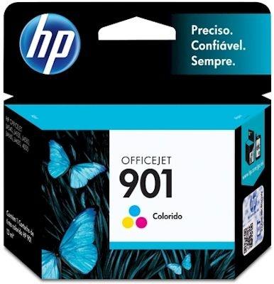 Cartucho Original HP 901 Colorido - CC656AB