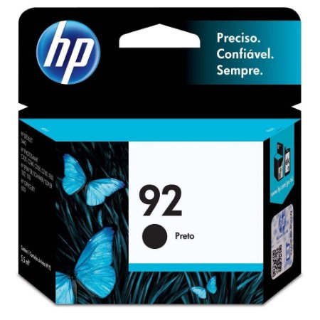 Cartucho Original HP 92 Preto - C9362WB