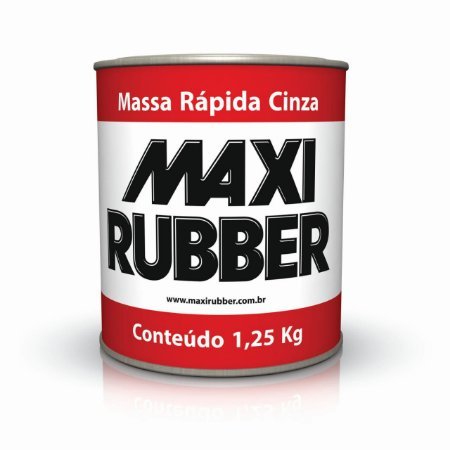 massa rápida maxi rubber 1,250kg