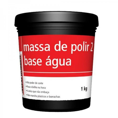 massa p/polir n2 1kg