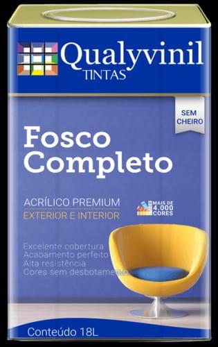 FOSCO COMPLETO CINZA LUNAR GL 3,6L - QUALYVINIL