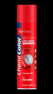 spray chemicolor vermelho 400ml