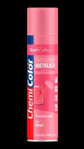 spray metalico chemicolor rose
