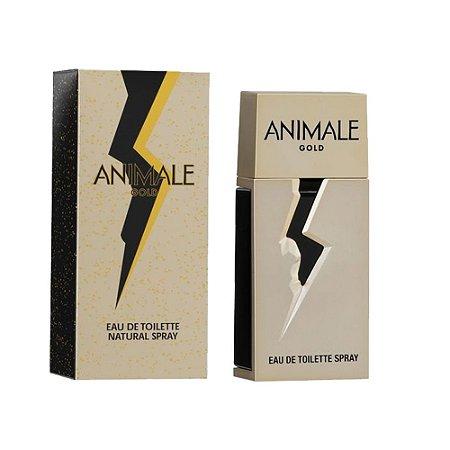 PERFUME GOLD FOR MEN ANIMALE MASCULINO EAU DE TOILETTE