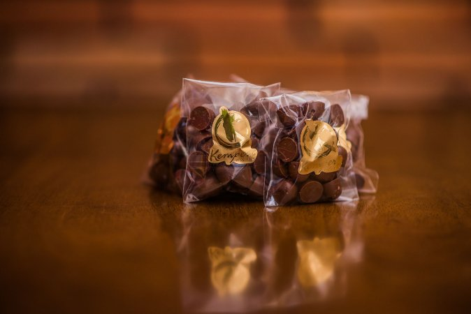 Gotas de Chocolate Kemper's Haus - Sabor Menta