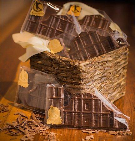 Barra de Chocolate em formato das Ruínas de São Miguel