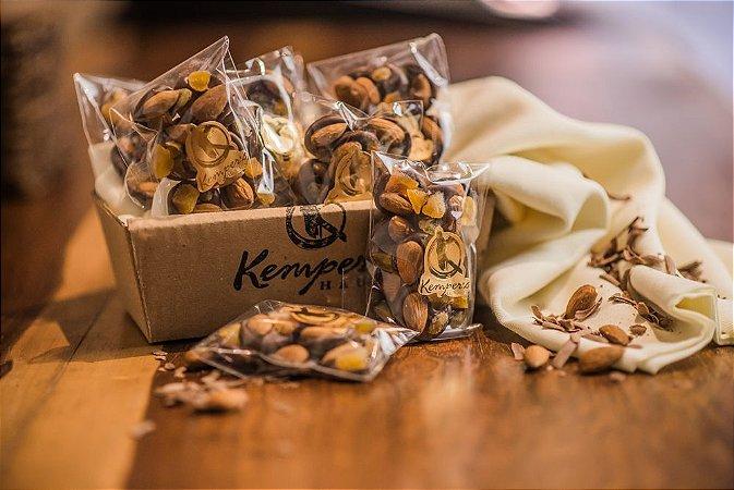 Fiorentina  - Chocolate ao leite com amêndoas, damasco e frutas cristalizadas