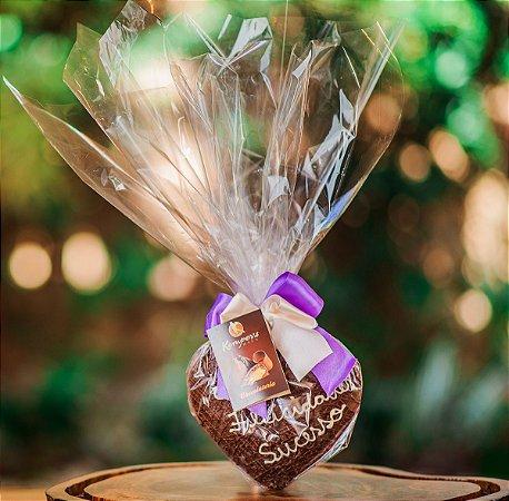 Coração de Chocolate - Creme de Avelã