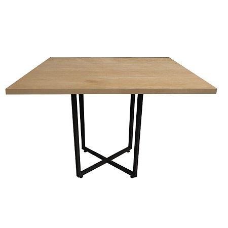 Mesa de Jantar Industrial Quadrada 90x90