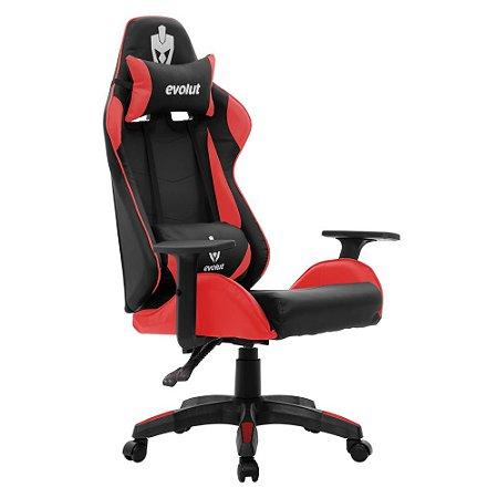Cadeira Gamer Evolut Lite Vermelha