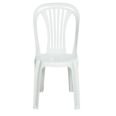 Cadeira Bistrô Super Aberta Branca