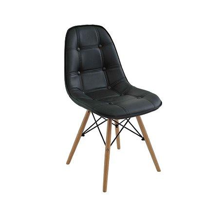 Cadeira Eames Botonê Preta