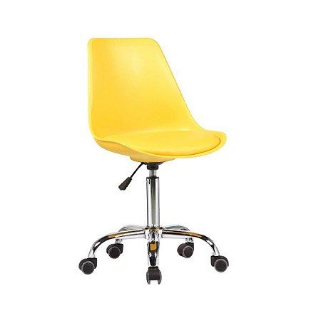 Cadeira Office Eames Amarela