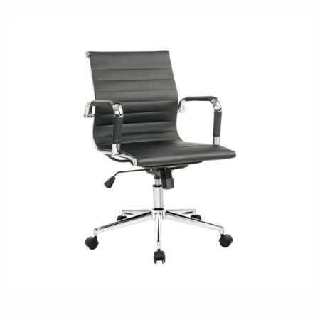 Cadeira Office Esteirinha Diretor Preta