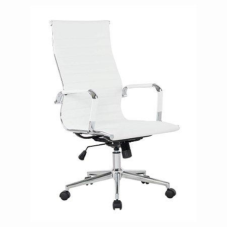 Cadeira Office Esteirinha Presidente Branca