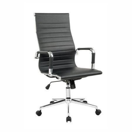 Cadeira Office Esteirinha Presidente Preta