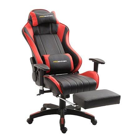 Cadeira Pro Gamer X Preta com Vermelho