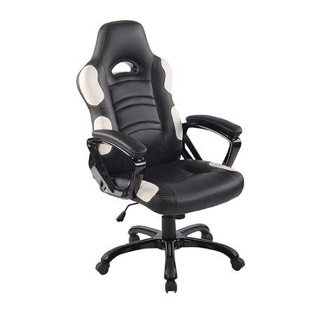 Cadeira Gamer Flash preta com Branca