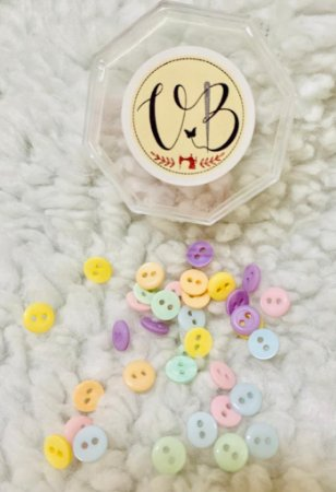Botão Candy Colors Mini