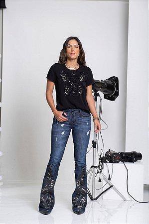 T-SHIRT DE SARJA SUGAROCA