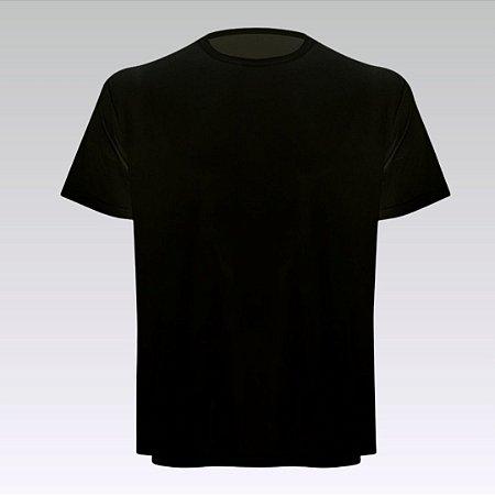 Camiseta Masculina - Modelo Lisa cor Preta