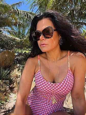 Óculos Rita marrom