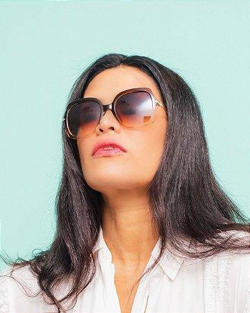 Óculos  Valquiria marrom