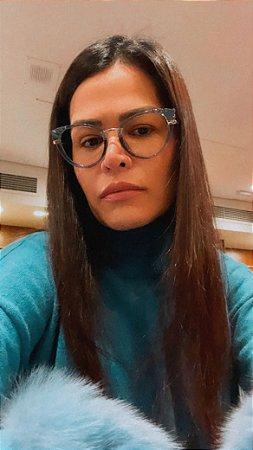 Óculos Bela azul