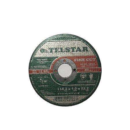Disco de Corte 114 x 1 x 22- Telstar