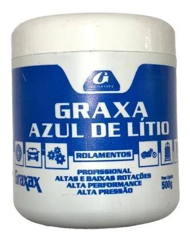 GRAXA AZUL PROFISSIONAL 500GR GARIN