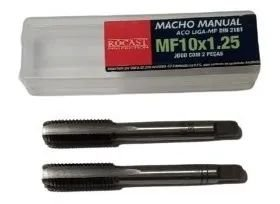 JOGO MACHO MANUAL A/C MF10X1,25 2640026 ROCAST-AMATOOLS