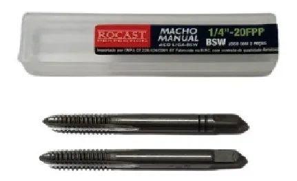 JOGO MACHO MANUAL A/C 1/4-20 2640061 ROCAST-AMATOOLS