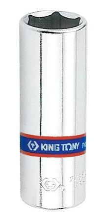 SOQUETE SEXTAVADO LONGO 1/4 X 08MM 223508M KING TONY