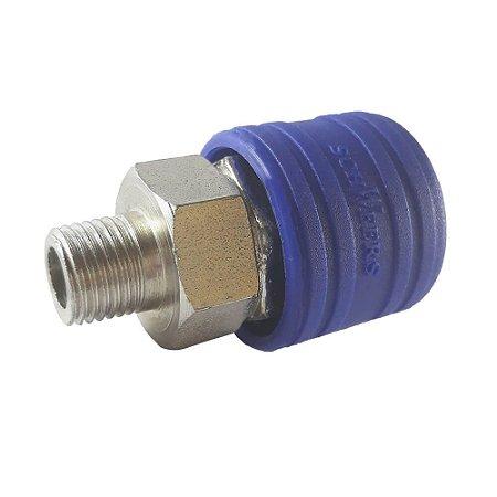 ENGATE RAPIDO 1/4 FEMEA CAPA PLASTICO ERCP767 SCHWEERS