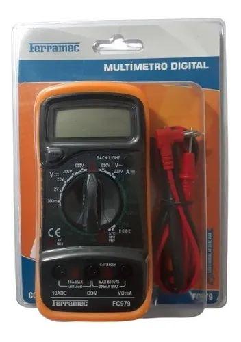 MULTIMETRO DIGITAL FC979 FERRAMEC