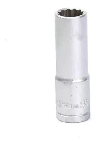 SOQUETE ESTRIADO LONGO 1/2 X 14MM F6077 WAFT
