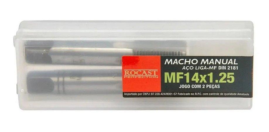 JOGO MACHO MANUAL A/C MF14X1,25 2640030 ROCAST-AMATOOLS