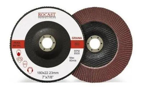 DISCO FLAP 115MM GR80 1020003 ROCAST-AMATOOLS