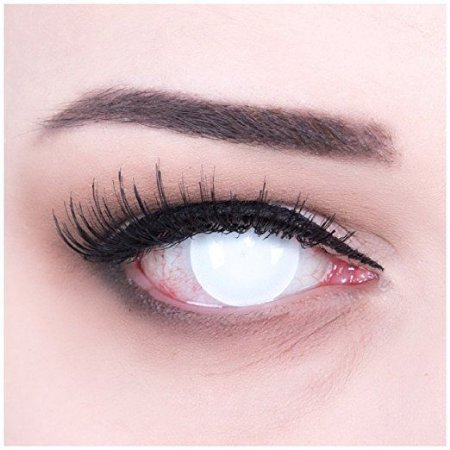 White Blind Eyes - 14mm