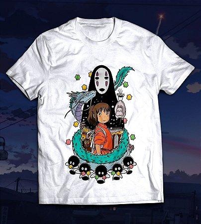 Camiseta - A viagem de Chihiro