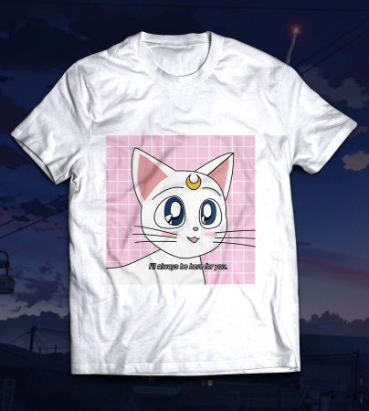 Camiseta - Artemis - Sailor Moon