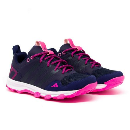 Tênis Adidas Kanadia TR7 Marinho e Rosa