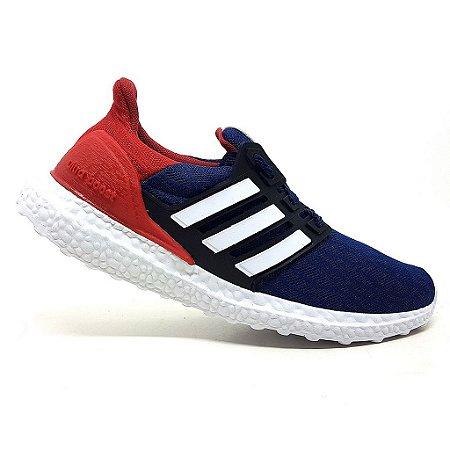 Tênis Adidas Ultraboost S&L Marinho e Vermelho
