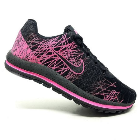 Tênis Feminino Nike Air Zoom Vomero 13 Preto e Pink